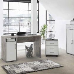 Kantoor Maxi-office - beton/wit