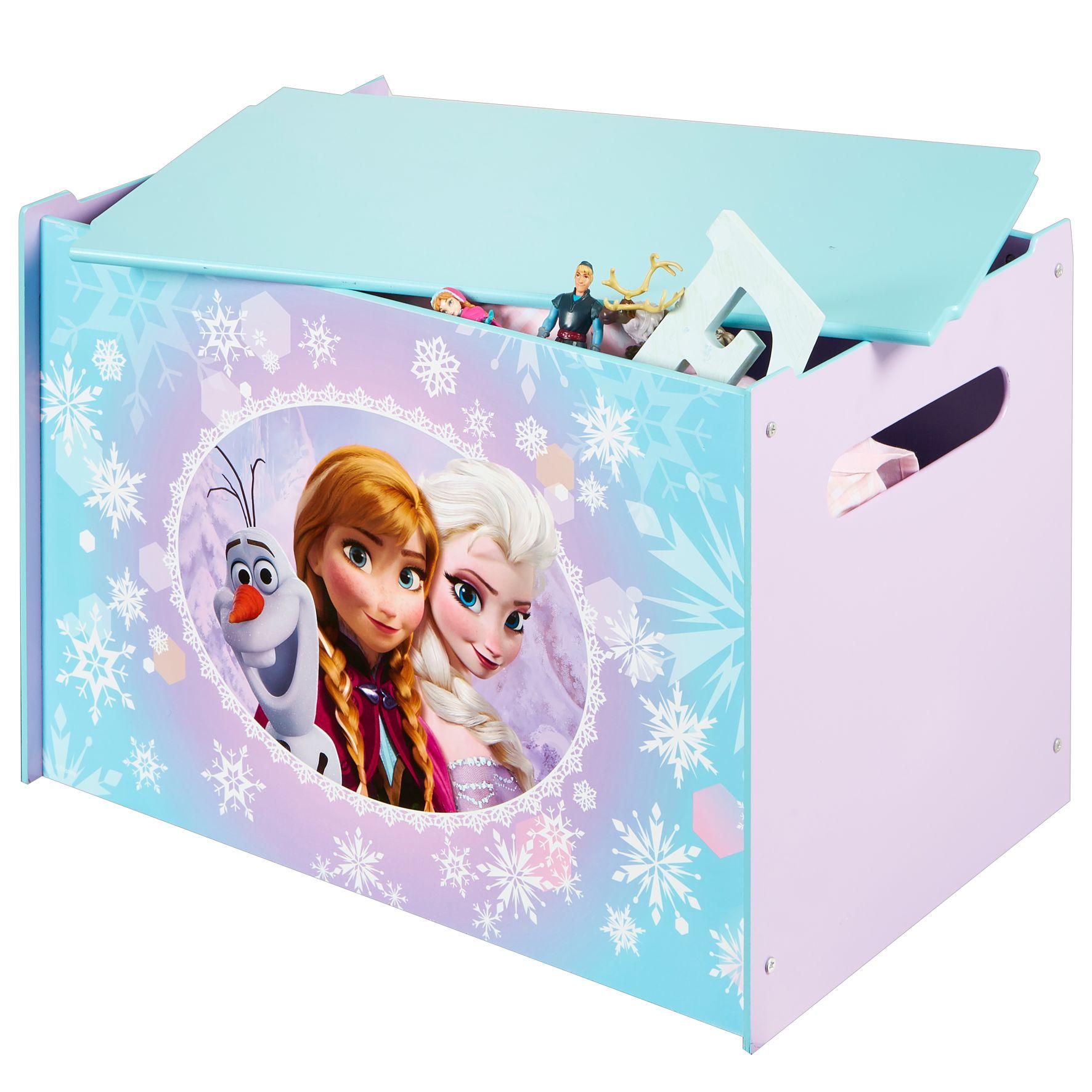 Speelgoedkist Hout Frozen: 60x40x40 Cm Per stuk