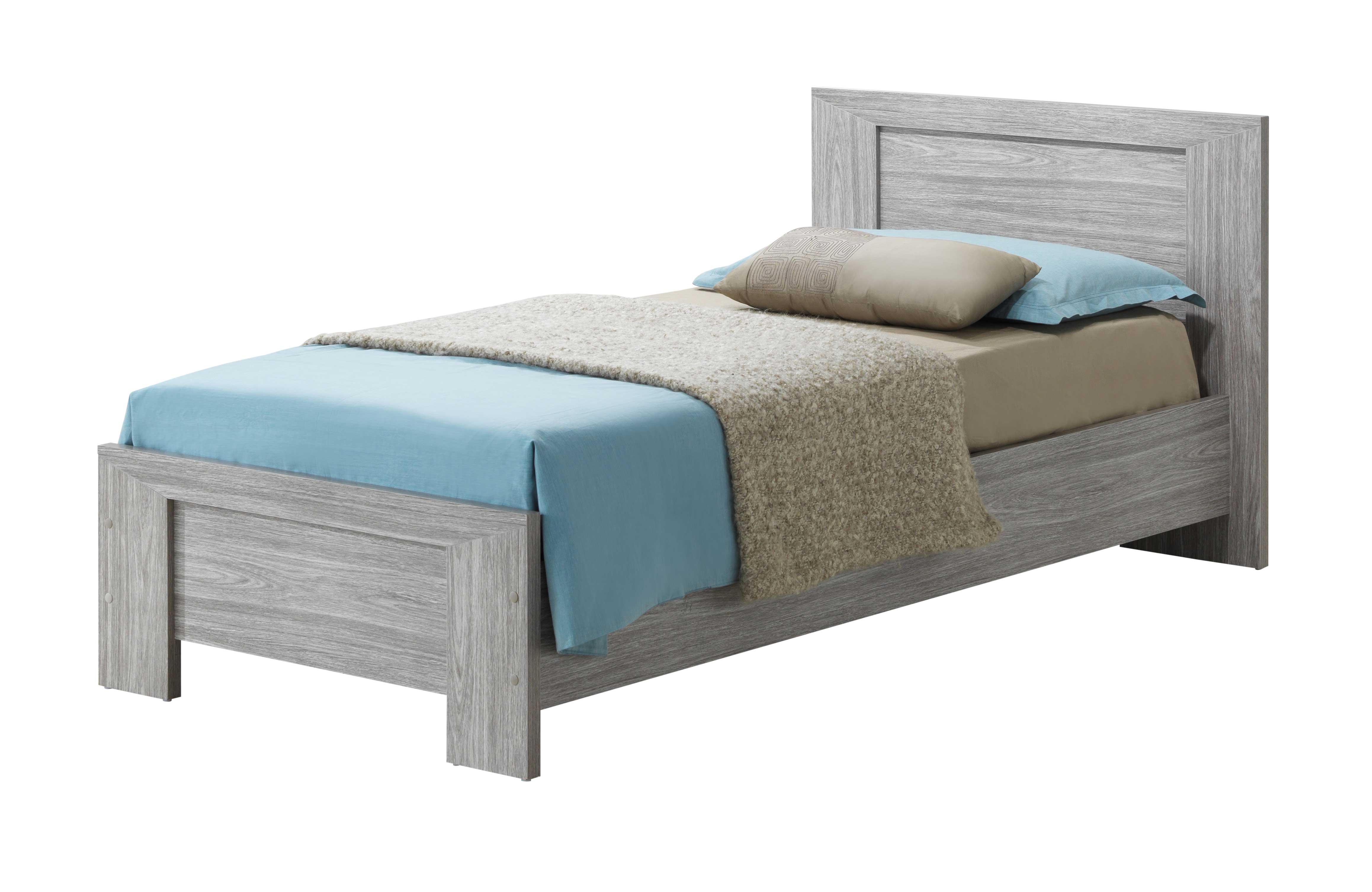 Bed Heaven 90x200 cm - eik/grijs