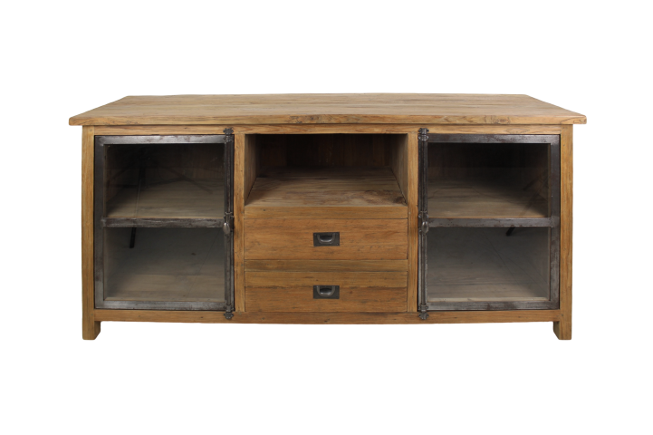 HSM Collection TV dressoir Dingklik- teak 160x50x80 cm
