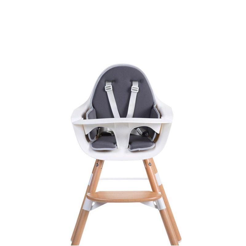 Kussen evolutieve stoel donkergrijs