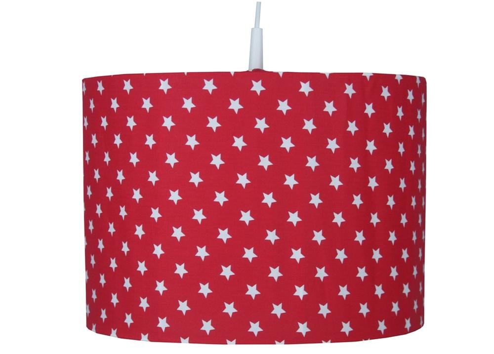 Hanglamp Little Star rood