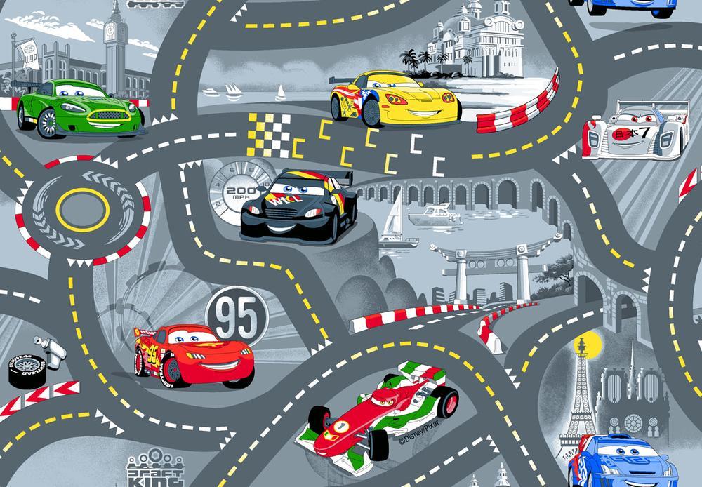 Vloerkleed Cars World of Cars 2