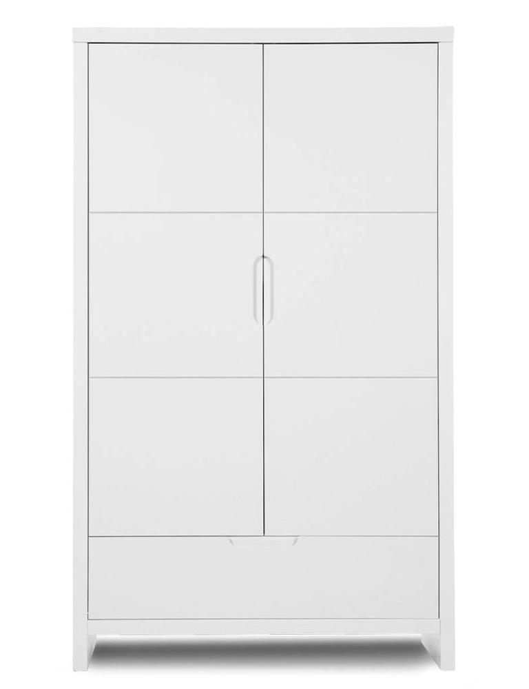 Kledingkast 2 deuren Quadro white