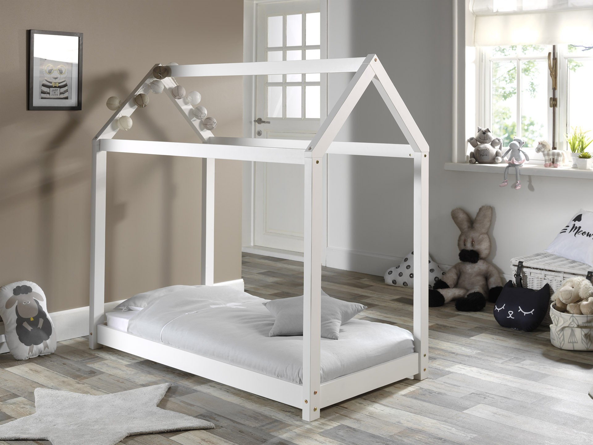 Huisbed Home 70x140 - wit