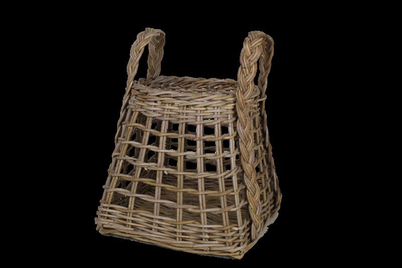 Opbergmand Open Weaving koboo grijs- HSM Collection