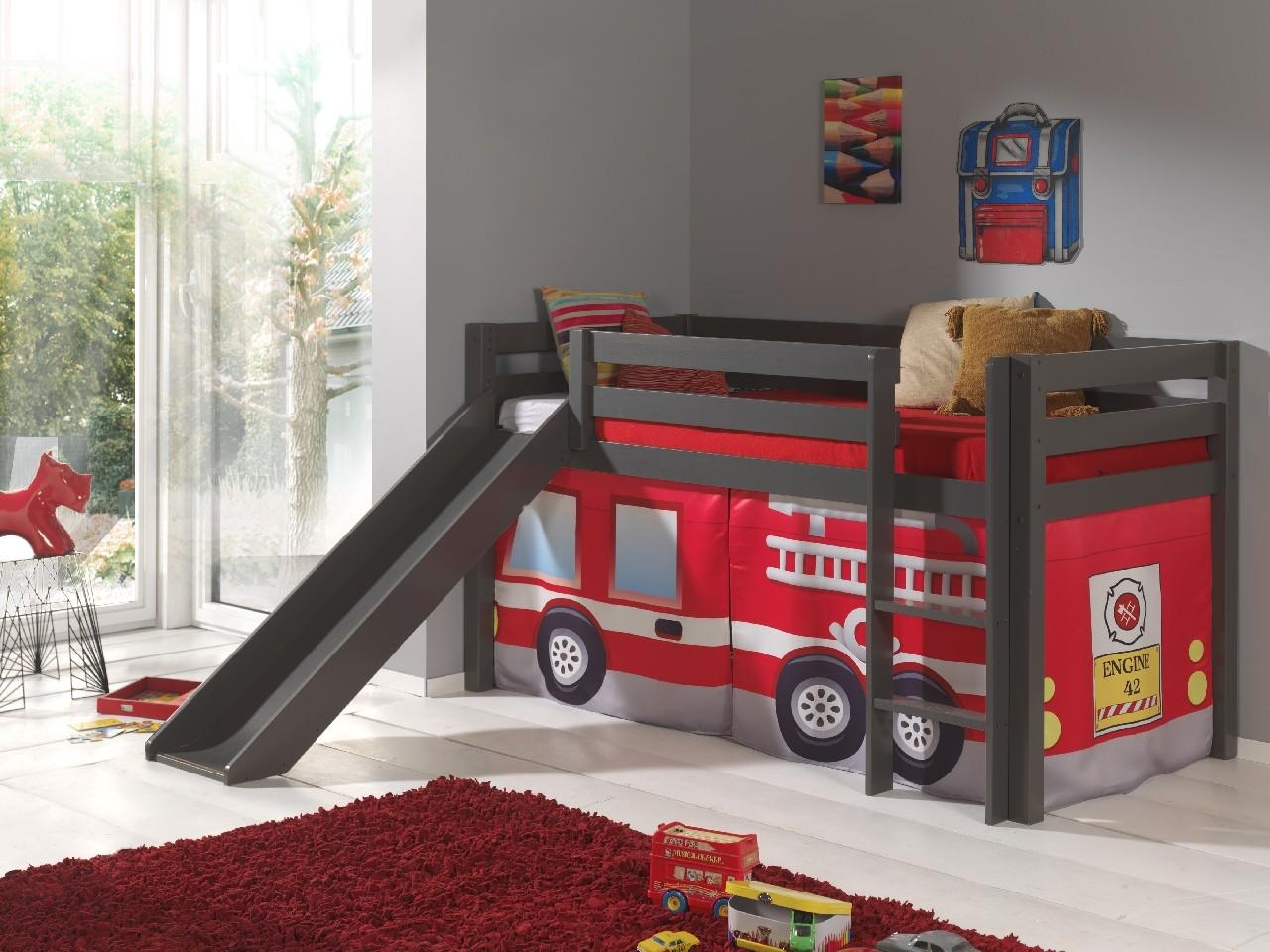 Halfhoogslaper Astrid taupe brandweer
