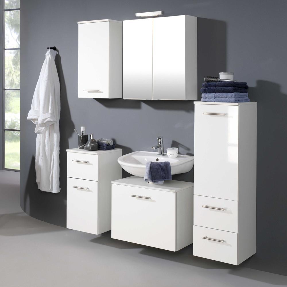 goedkope Kast voor wastafel Blanco 60cm Held Wit HD095 3007