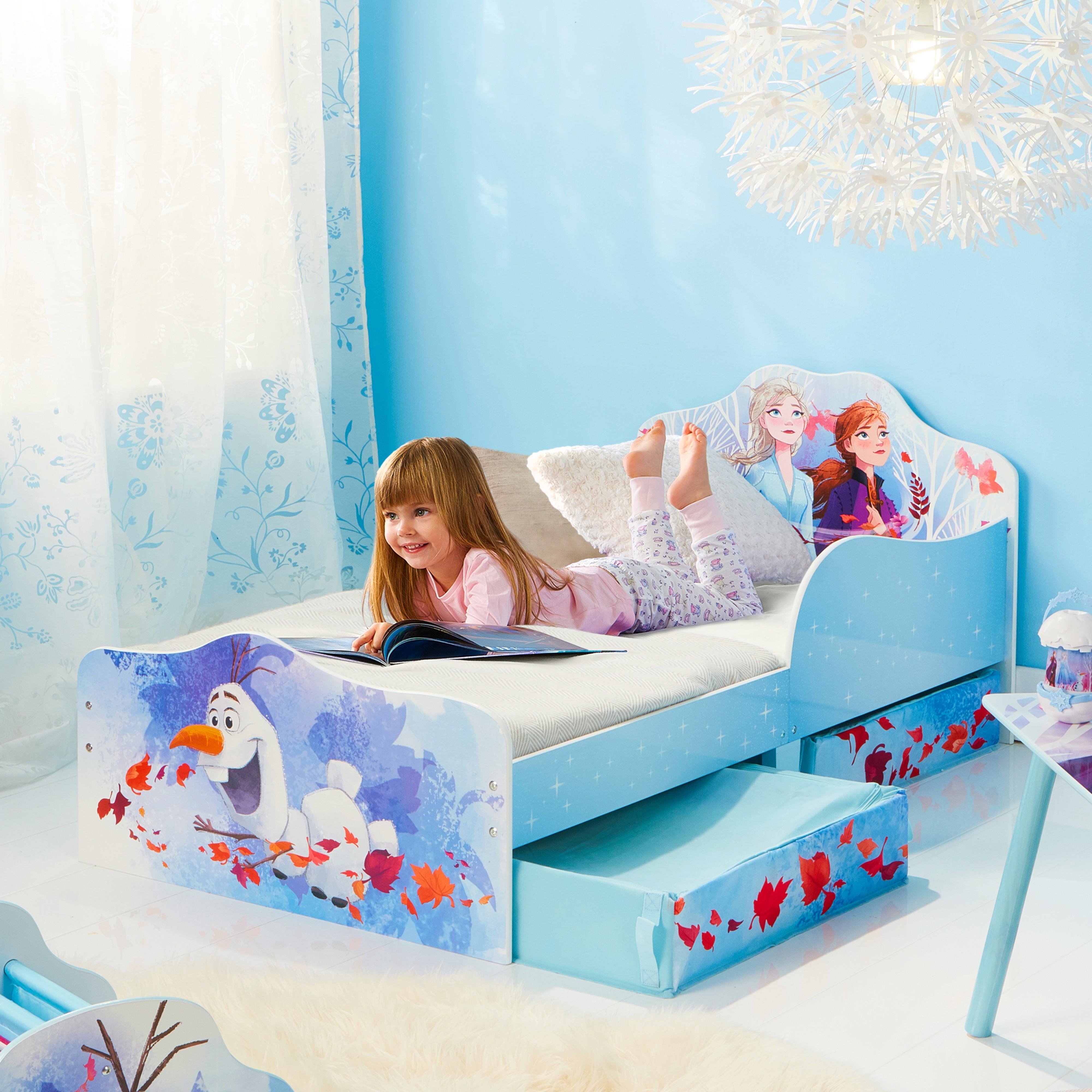 Peuterbed met bedlades Frozen 2