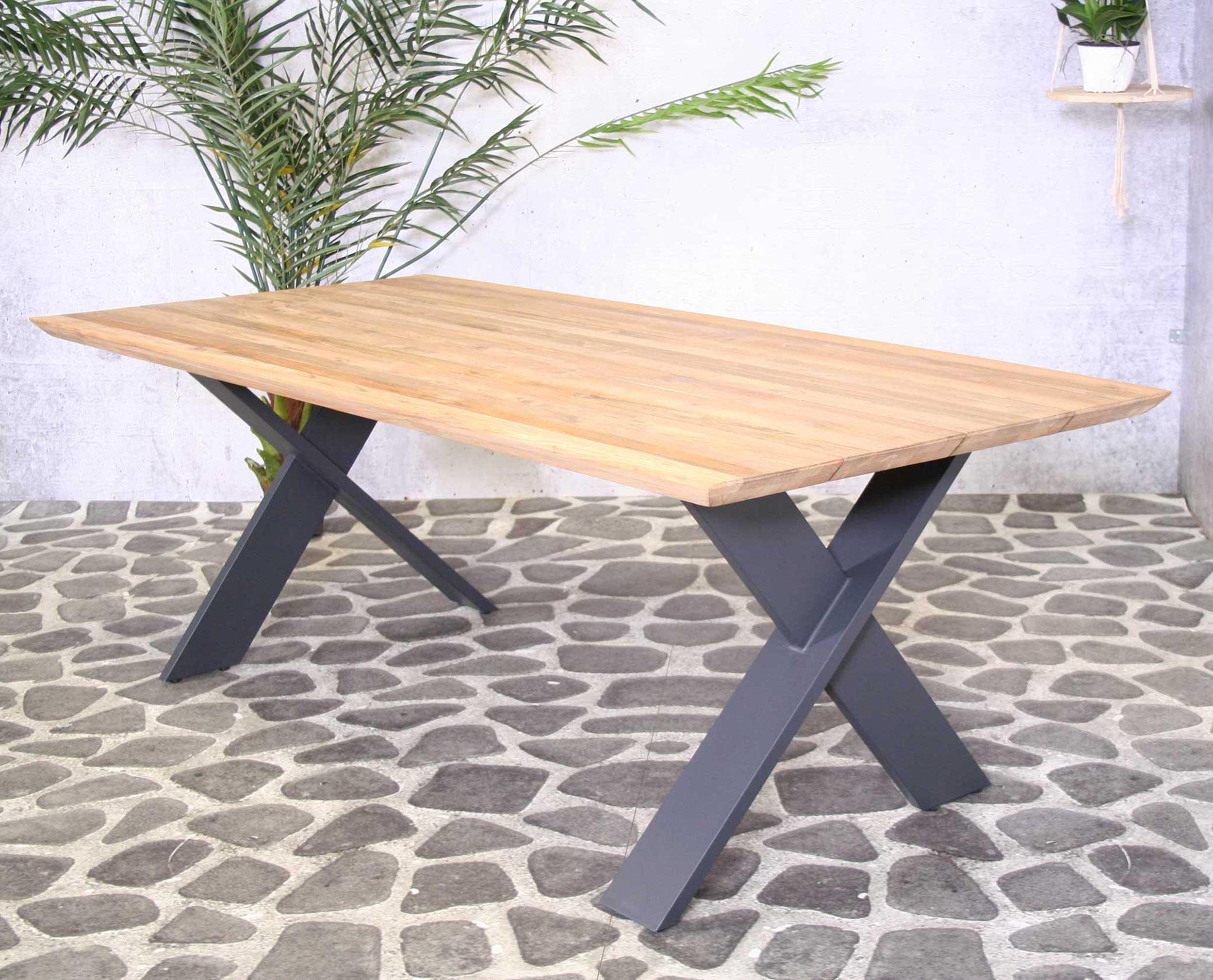 SenS line teak houten tuintafel Hamilton 220 cm