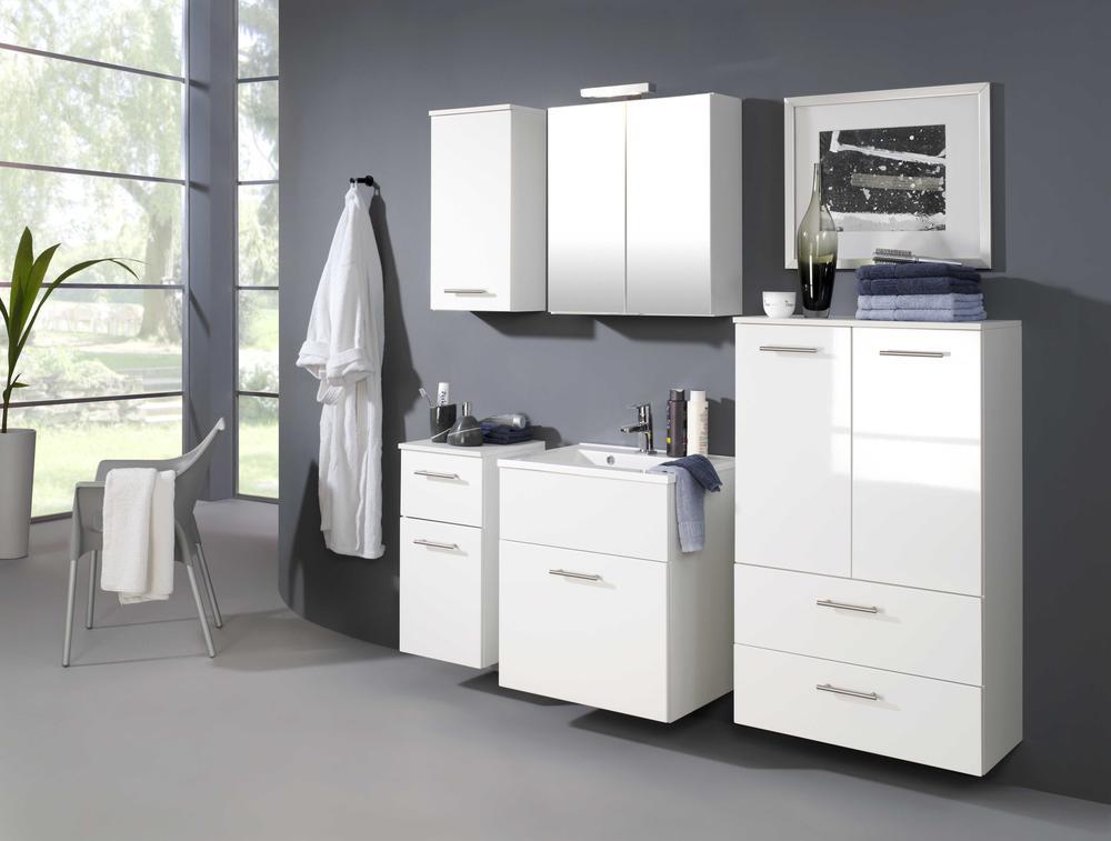 goedkope Wastafelkast Blanco 60cm Held Wit HD098 3007