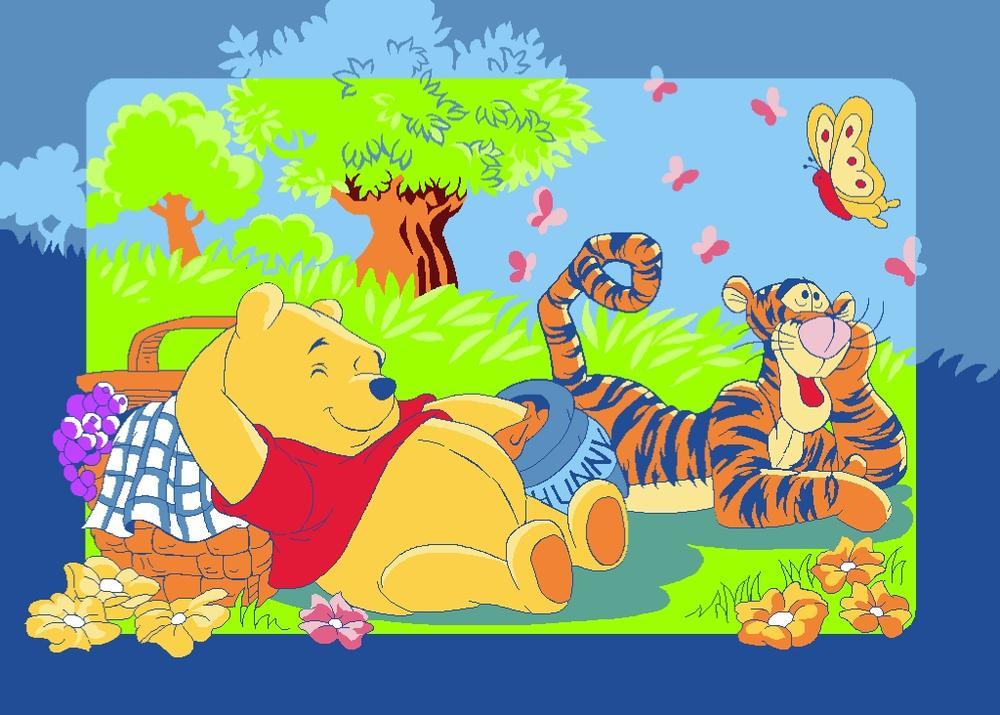 Vloerkleed Winnie & Tigger