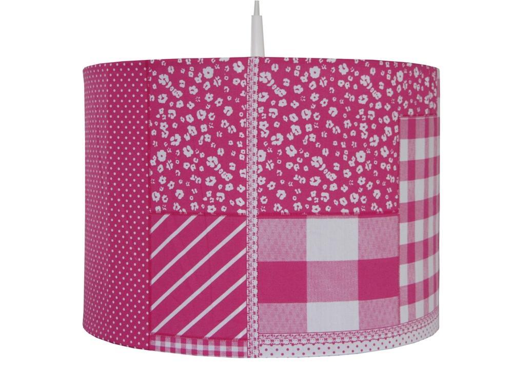 Hanglamp Patchwork roze