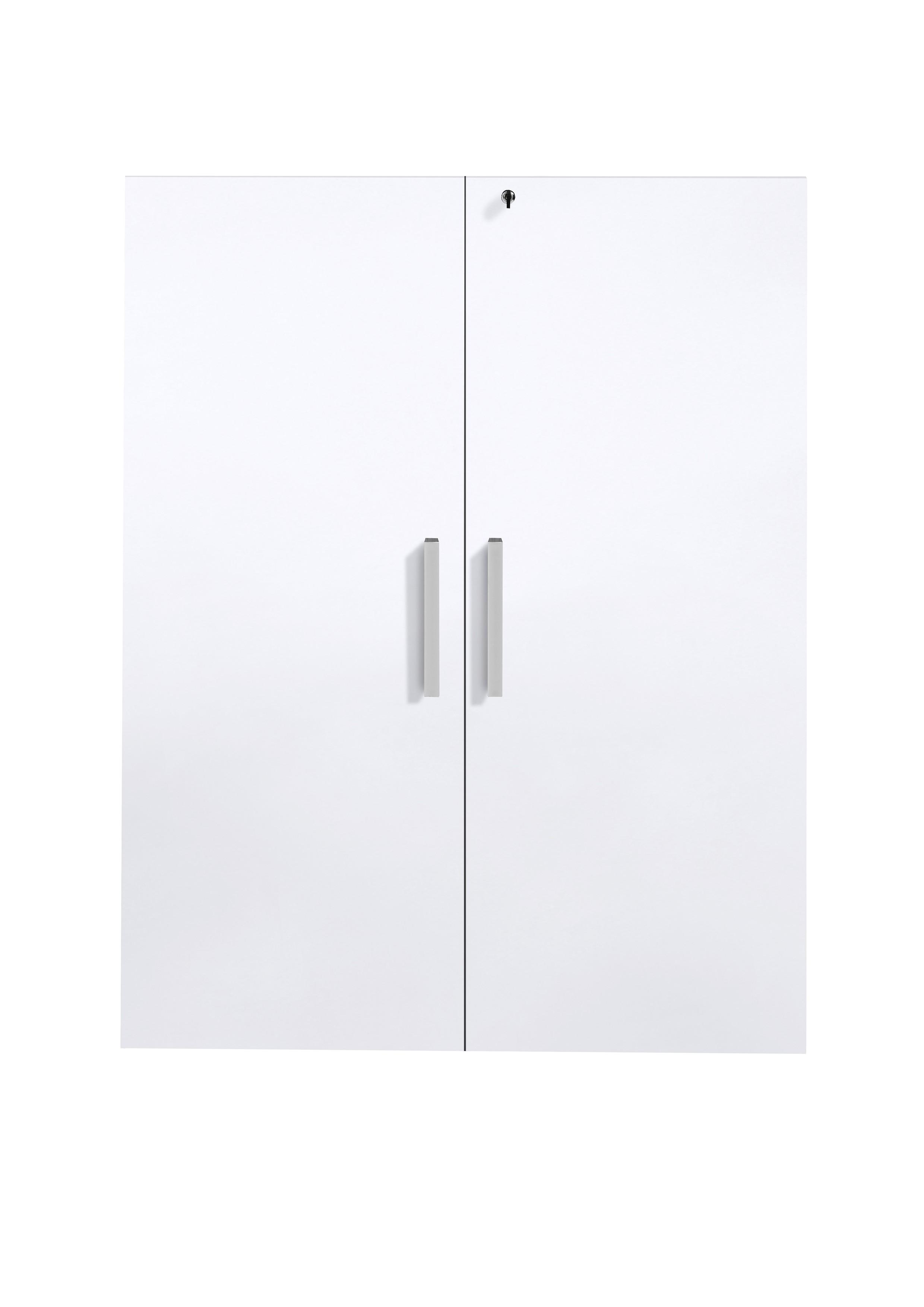 2 deuren Gabi hoogglans wit