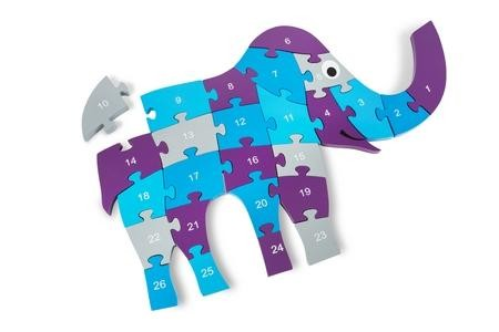 BuitenSpeel puzzel olifant