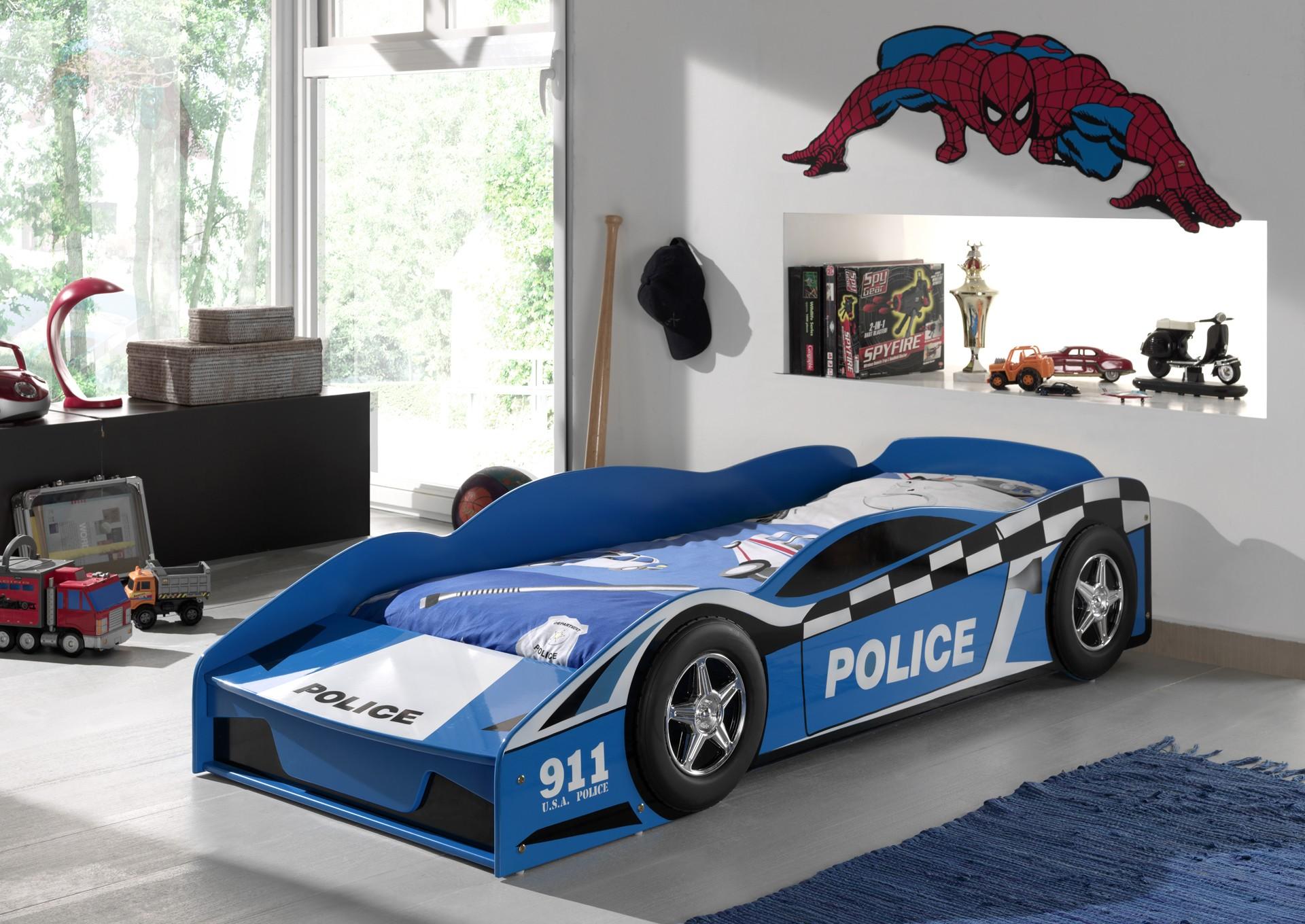 Peuterbed Politiewagen