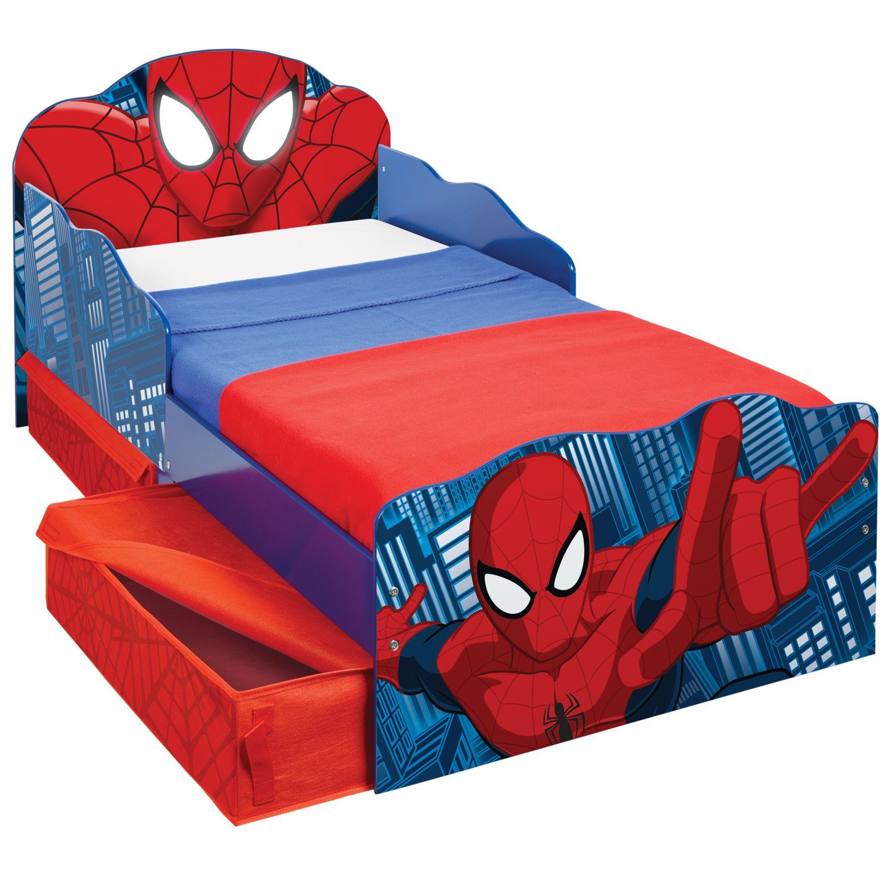 Spider-Man peuterbed met bedlades