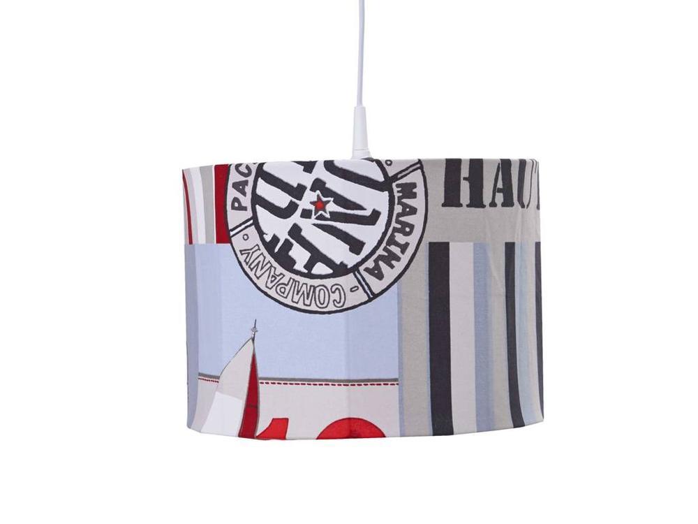 Hanglamp Nautic - rood
