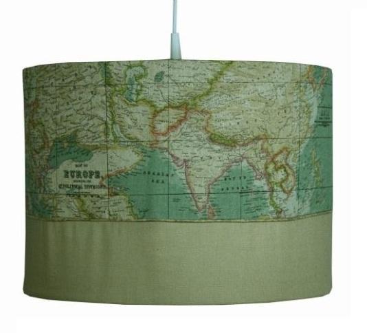 Hanglamp World map