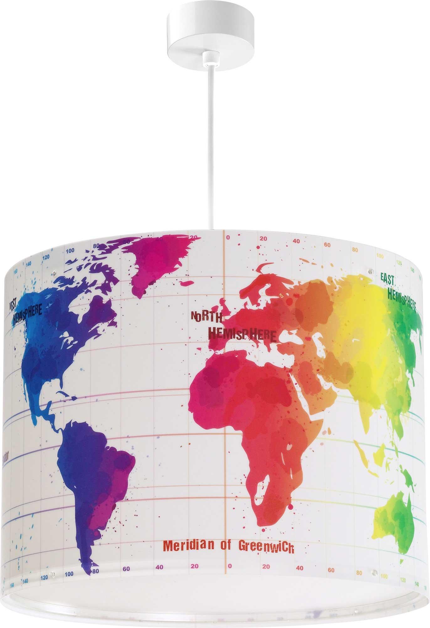 Hanglamp Map