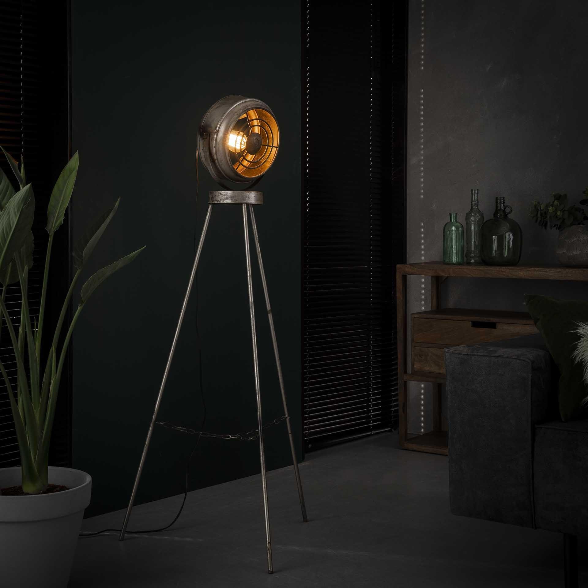 Vloerlamp beam - Oud zilver