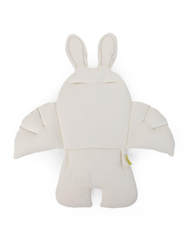 Rabbit stoelkussen wit