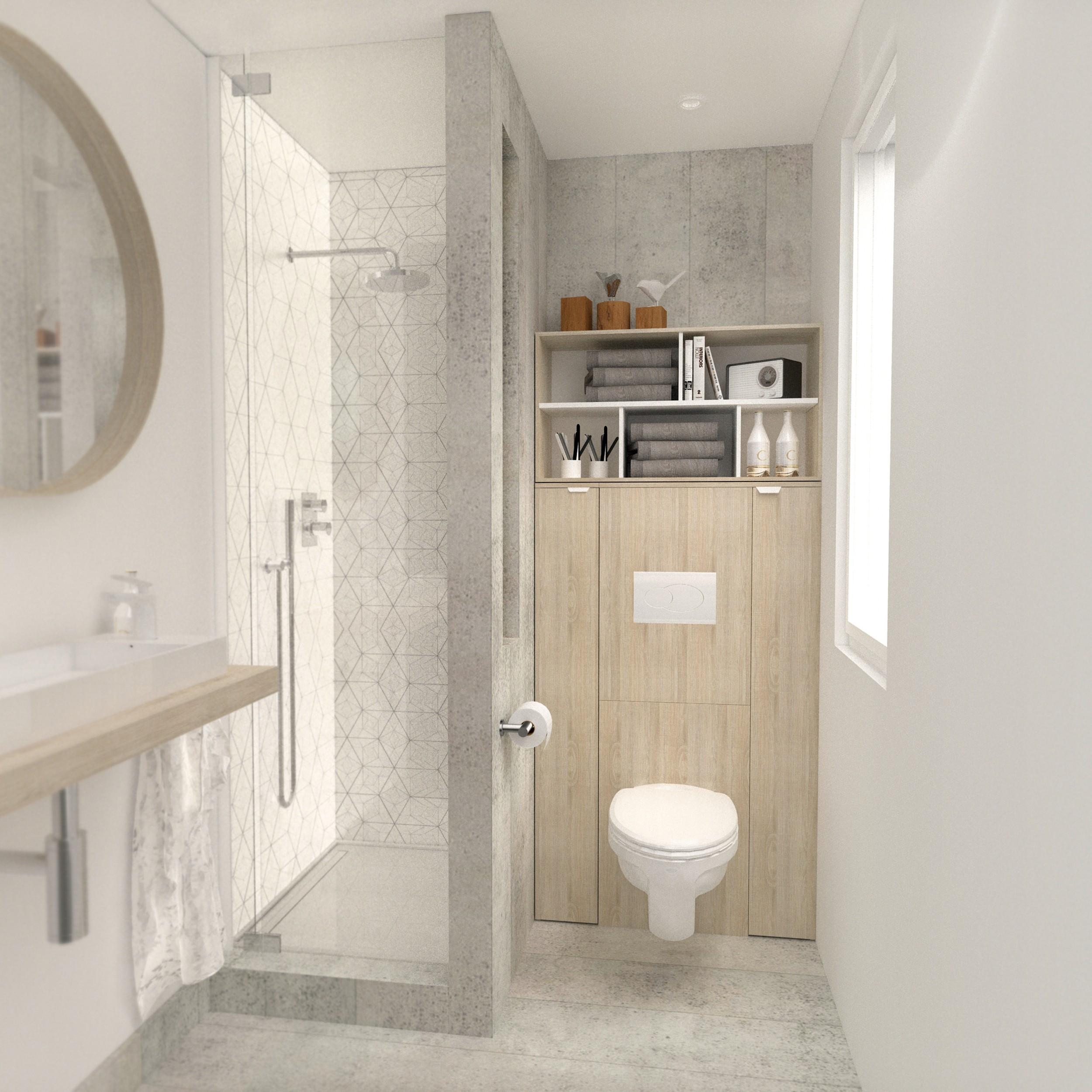 goedkope Achterbouw Sch voor hangtoilet Parisot Bruin PA205645