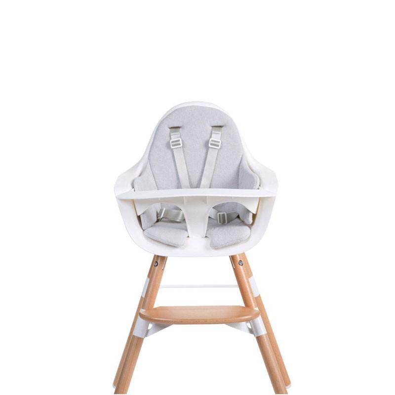 Kussen evolutieve stoel lichtgrijs