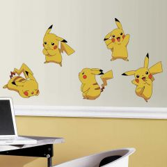 Muurstickers Pokémon Pikachu