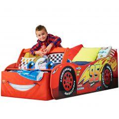 Peuterbed Auto Cars Bliksem McQueen + leds