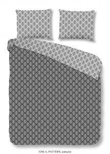 Dekbedovertrek Pattern Antracite 240x220