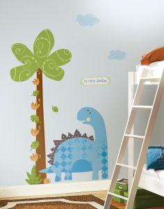 RoomMates muurstickers - Babysaurus groeimeter