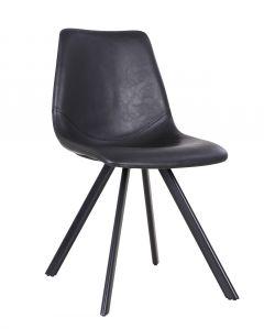 Set van 2 stoelen Emmy - zwart