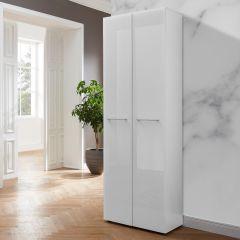 Garderobekast Scifo 59cm met 2 deuren - wit
