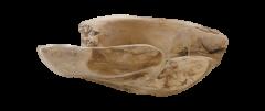 Fruitschaal - ø60 cm - teak