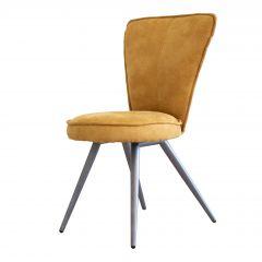Set van 2 stoelen Soraya - geel