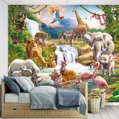 Kinderbehang Safari adventure
