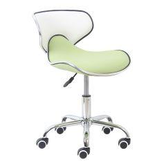 Bureaustoel Spring - groen/wit
