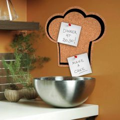 Muursticker prikbord Chef's Hat