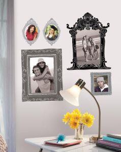 RoomMates muurstickers - Fotolijsten zilver en zwart