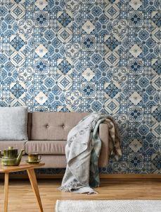 Zelfklevend behang Mediterranian Tile