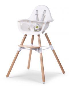 Kinderstoel Evolu 2 - naturel/wit