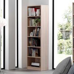 Boekenkast Spacio 55cm met 5 legplanken - sonoma eik