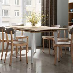 Uitschuifbare tafel Kim 134/174 - eik