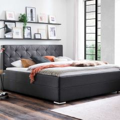 Bed Citris 180x200 - antraciet