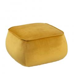 Poef Mirza 60x60 - geel