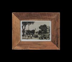 Fotolijst antiek medium - 34x27 cm - oud teak