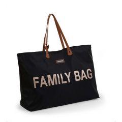 Verzorgingstas Family Bag - zwart/goud