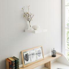 Wandplankje Shelvy 23cm - hoogglans wit