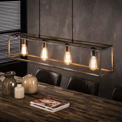Hanglamp Cubic 4 lampen